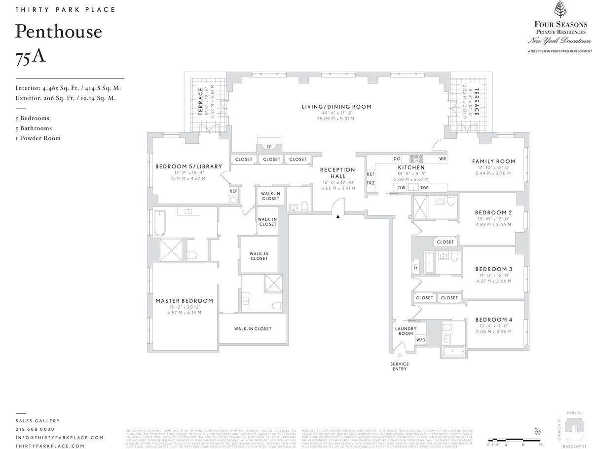 8 Bonkers Penthouse Floorplans For 30 Park Place, Revealed ...