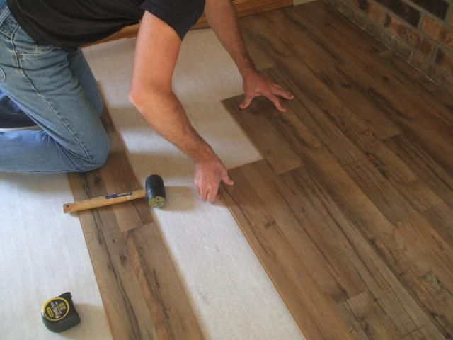 How To Install Laminate Flooring Floors Installing