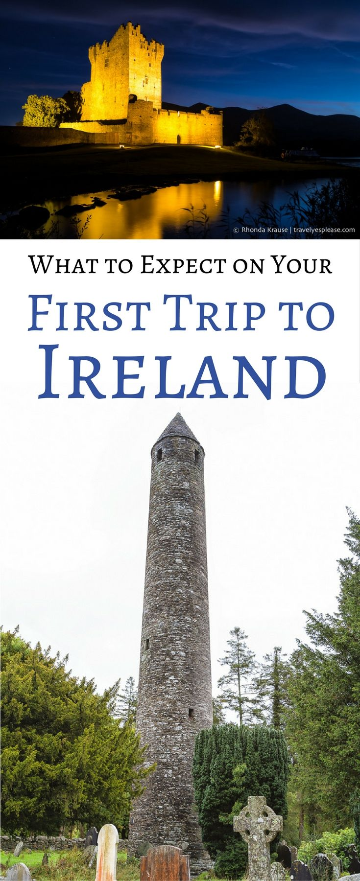 What to Expect on Your First Trip to Ireland: A First Time Visitor's Guide (Blog Post, travelyesplease.com) | #Ireland #Europe