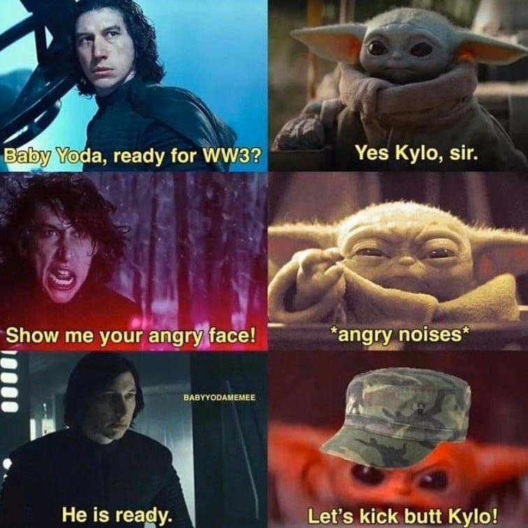 Polubienia 1 921 Komentarze 13 Baby Yoda Star Wars Yoda Bebe Na Instagramie Biggest Crossover Of The Star Wars Jokes Star Wars Humor Star Wars Yoda