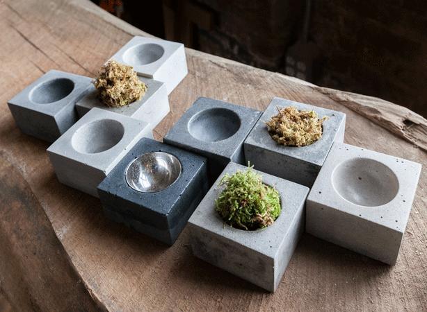Urban Gardens Mixing Urban Style Design And Nature Concrete Bowl Concrete Design Concrete Crafts