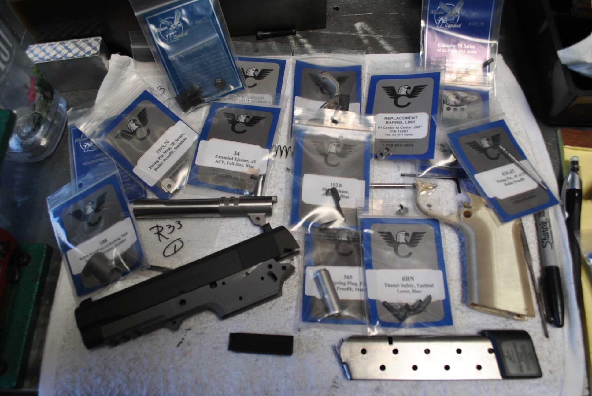 Build a Gun Rudius 1911 high end parts kit   1911 build   Pinterest