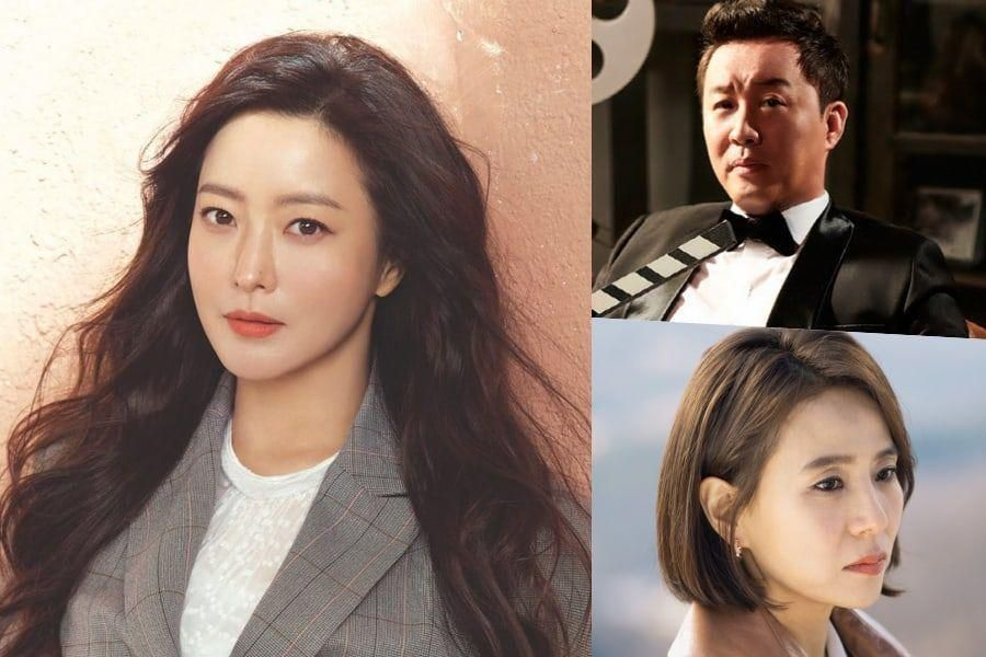 "Kim Hee Sun Thanks Jung Joon Ha And Seo Jeong Yeon For Supporting Her New Drama ""Alice"""