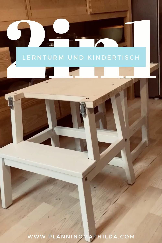 Photo of Lernturm und Kindertisch in einem