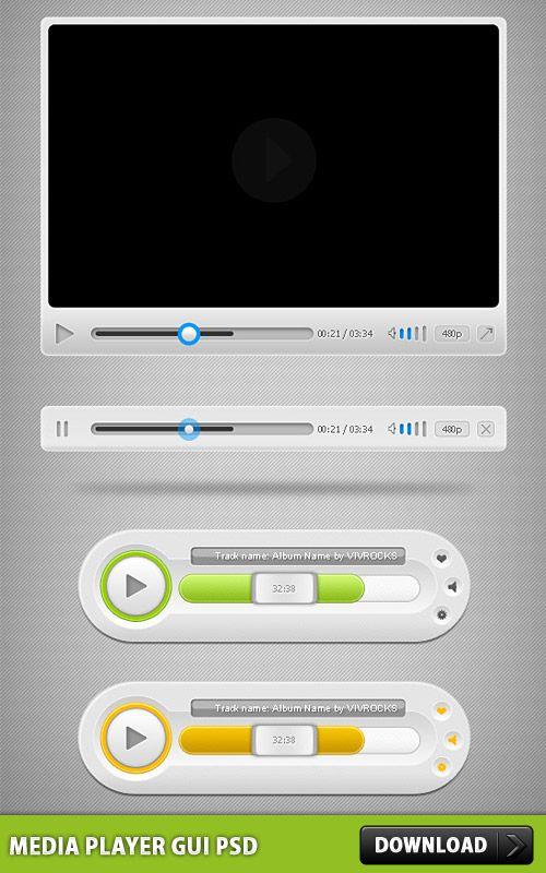 Ppt digital media player brief powerpoint presentation, free.