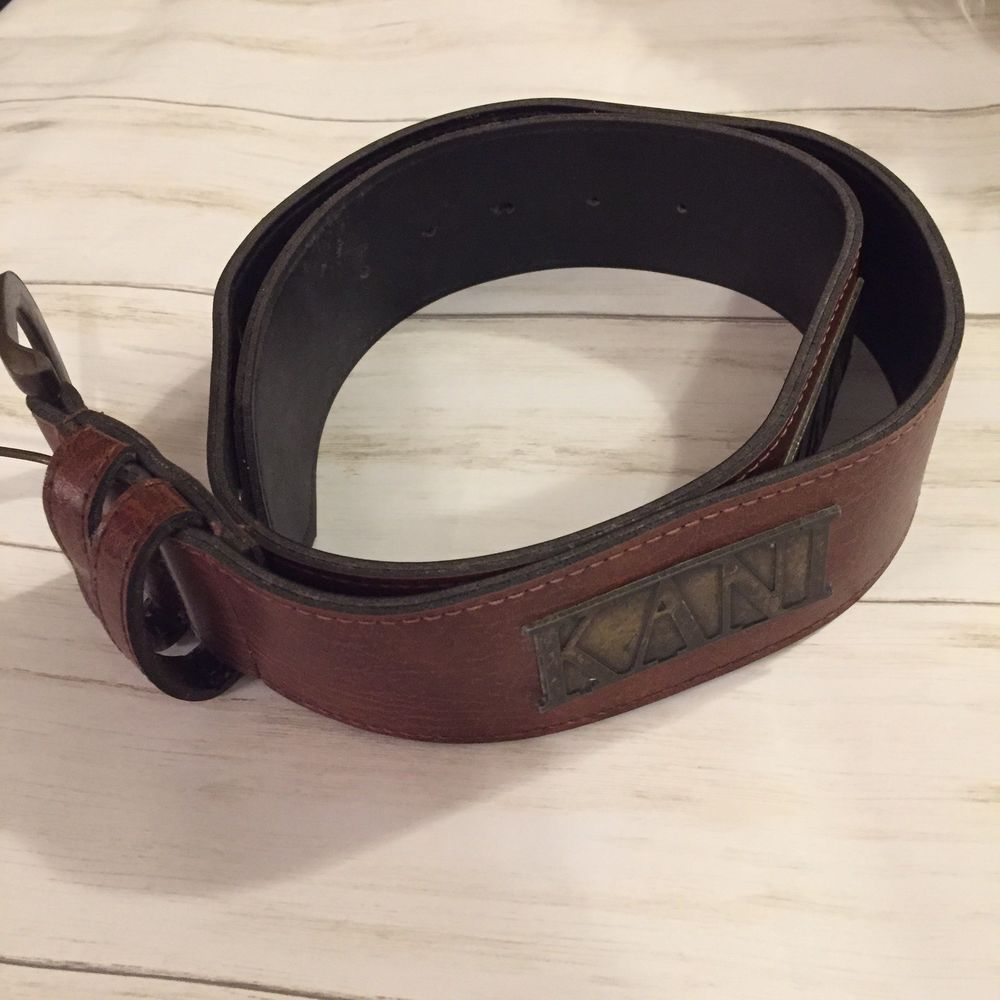 New Genuine mens leather belt natural handmade vintage rustic strap 35 mm wide