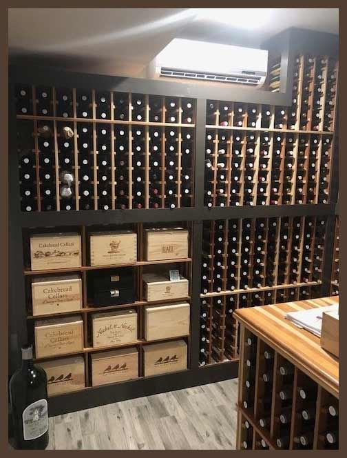 Wine Cellar Inspirations Ducted Vs Ductless Wine Cooling Units