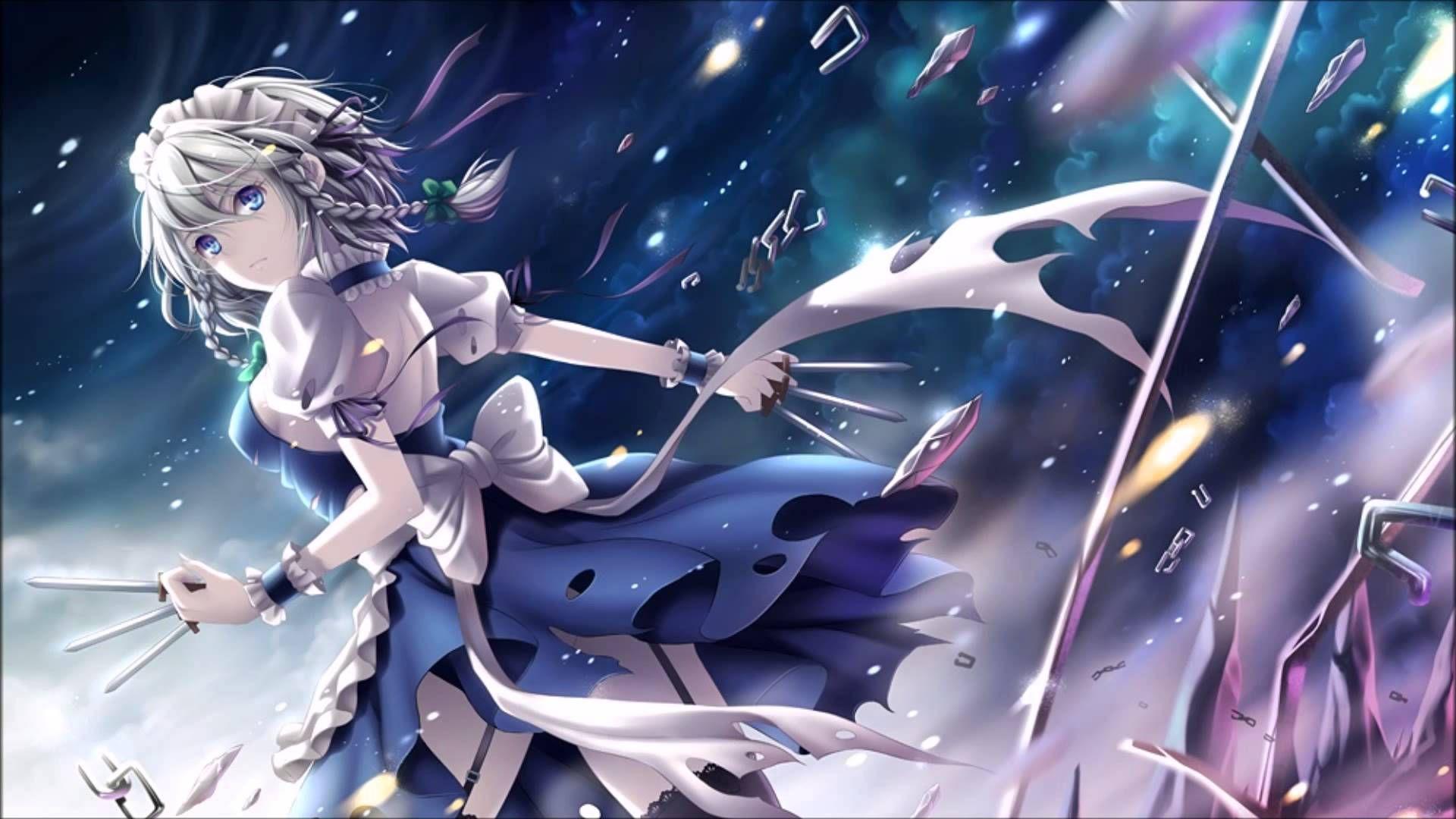 music warriyo mortals feat laura brehm image info touhou project name of the girl sakuya izayoi アニメの女の子 東方 かわいい 漫画の写真