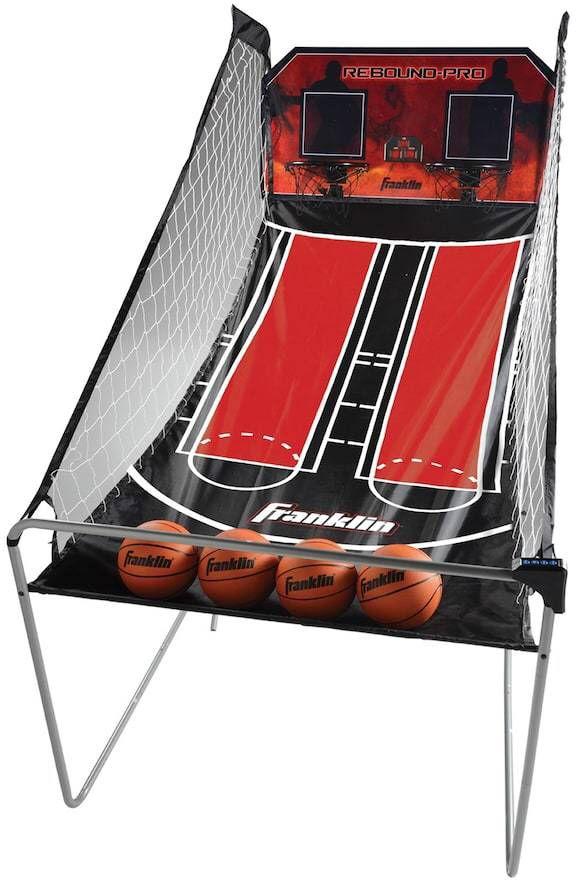 Franklin Sports Double Shot Rebound Pro Basketball Game Ad Arcade Basketball Basketball Games For Kids Basketball Games