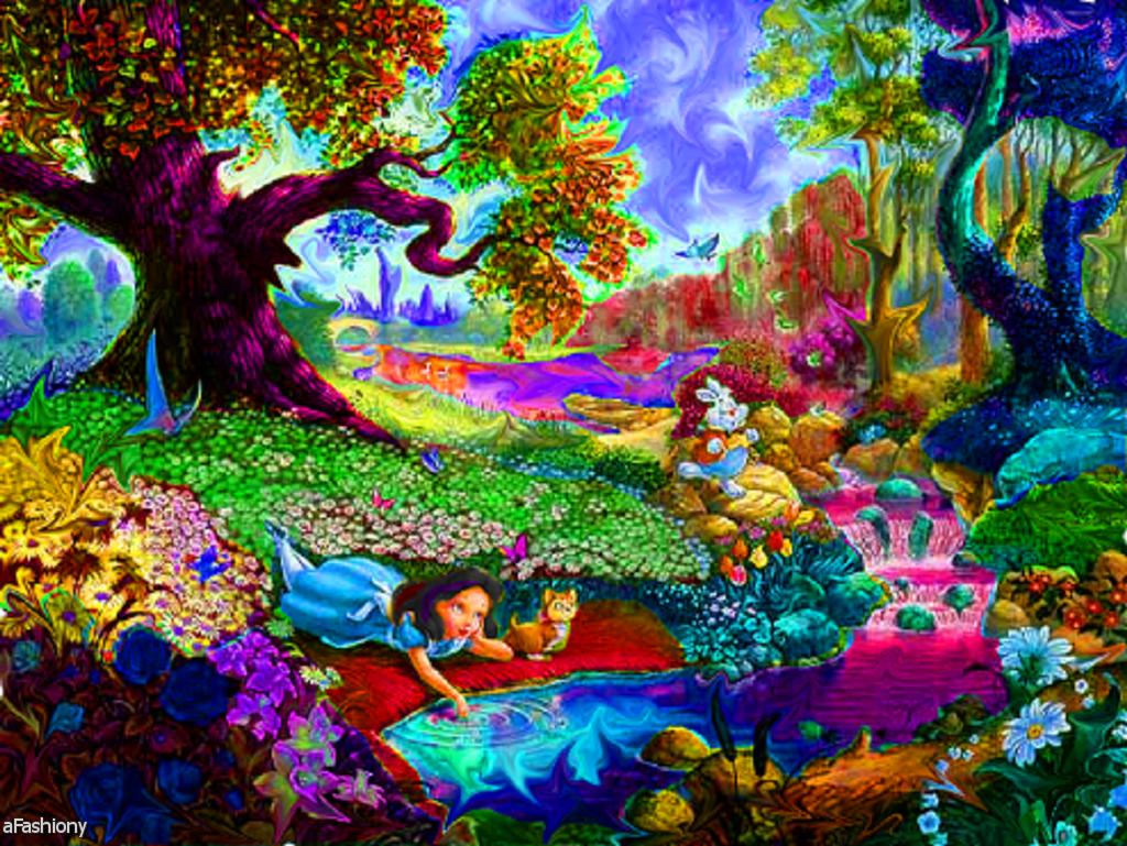Alice Trippy in wonderland tumblr gif 2019