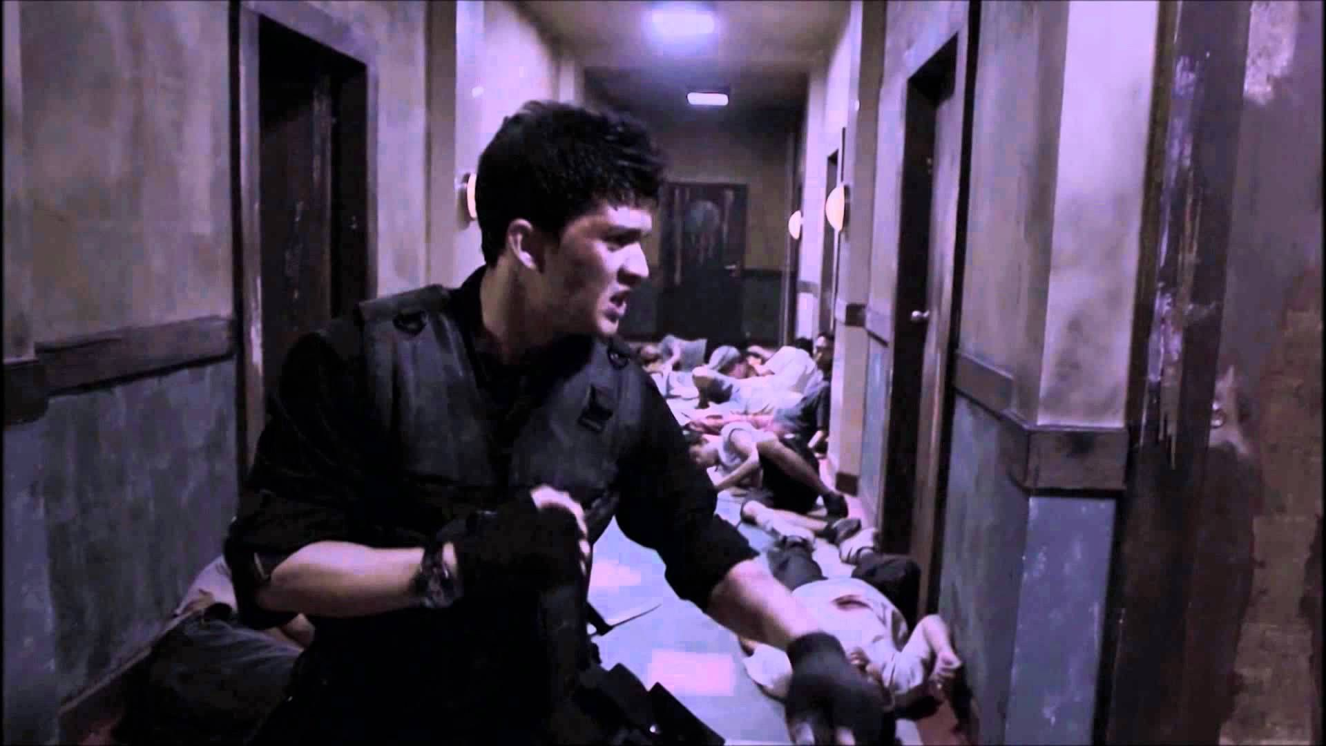 The Raid: Redemption First Hallway Fight Scene