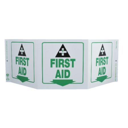 Tri-View, First Aid, 7.5x20, Recycle Pla