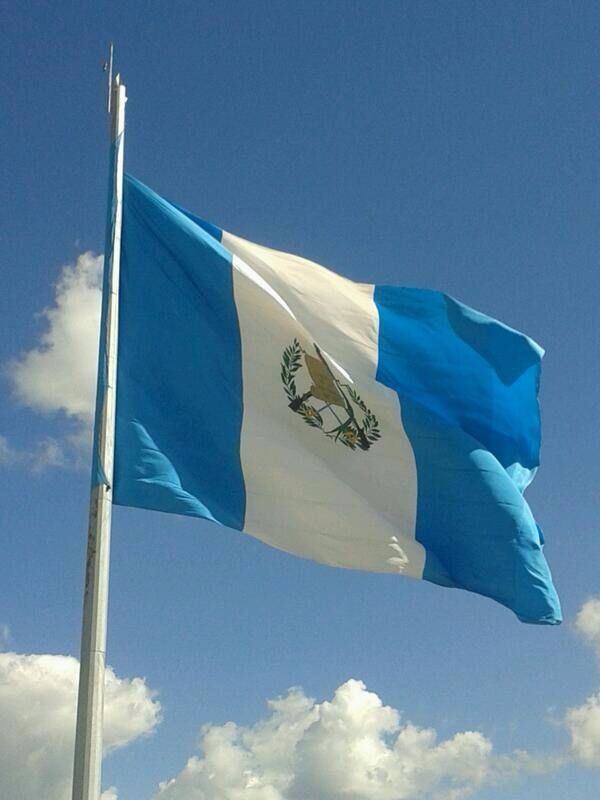 Guatemalan National Flag Guatemala Flag National Flag Flags Of The World