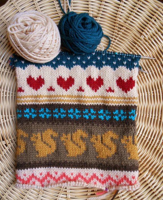 tricoter en jacquard