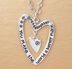 Grandaughter Necklace Harriet Carter Gift Ideas Pinterest