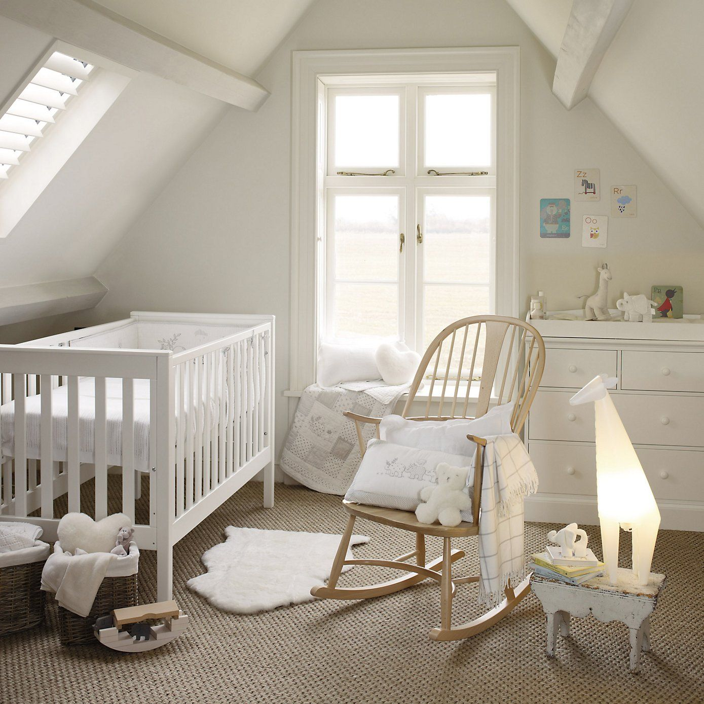 Classic Cot Bed from The White Company | Baby room | Pinterest