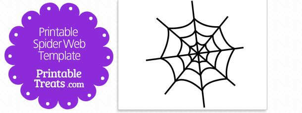 Printable Spider Web Template Writing Ideas Handwriting Spiders
