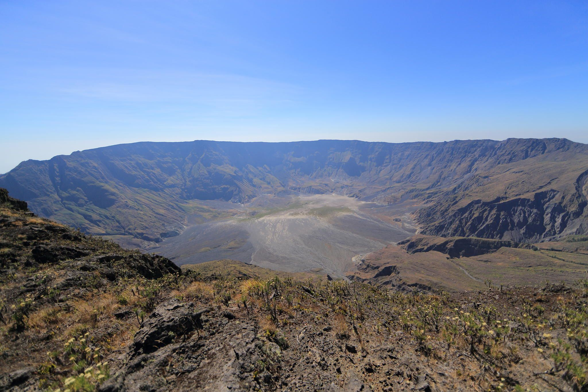 Tambora Crater. Sumbawa, Nusa Tenggara Barat, Indonesia by