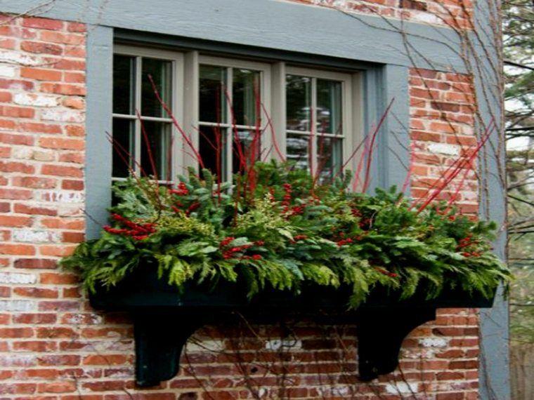 Jardini re fen tre ou balcon et diy ou comment faire soi - Jardiniere automne hiver ...