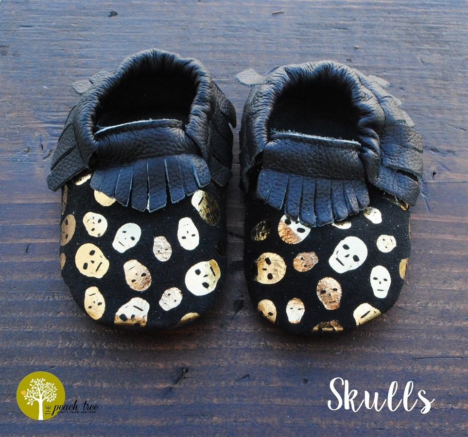 Baby Leather Moccasins | 61 Colors