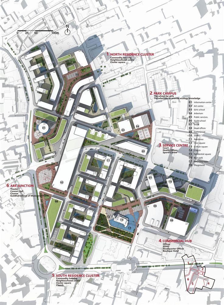 urban design of barbican london urban urban design