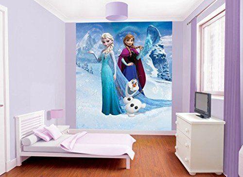 Fototapete Babyzimmer ~ Disney die eiskönigin elsa frozen fototapete walltastic