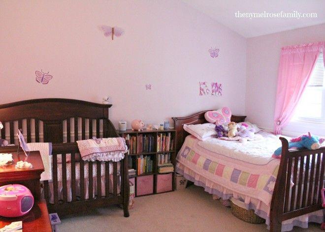 Newborn Toddler Room Reveal images