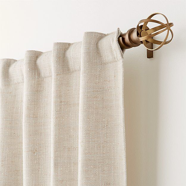 Reid Canyon Curtain Panel | Crate and Barrel