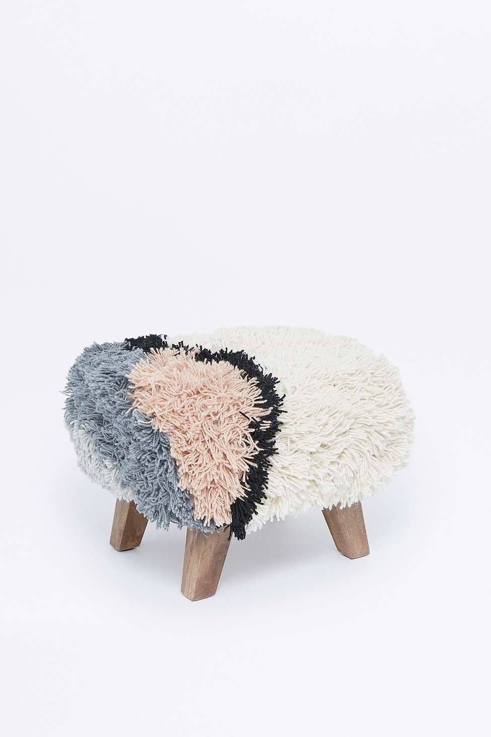 Small Shaggy Stool