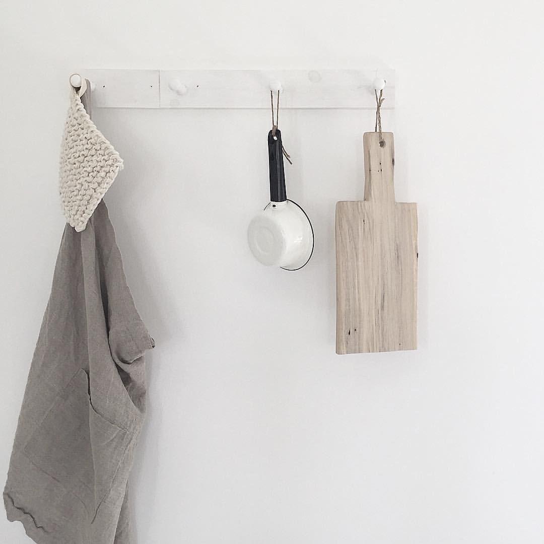 Hooks on butlers pantry wall Angie Wendricks (@countyroadliving) on ...
