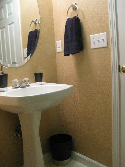 Small Half Bathroom Decor small windowless half bath decorating ideas | small half bathroom