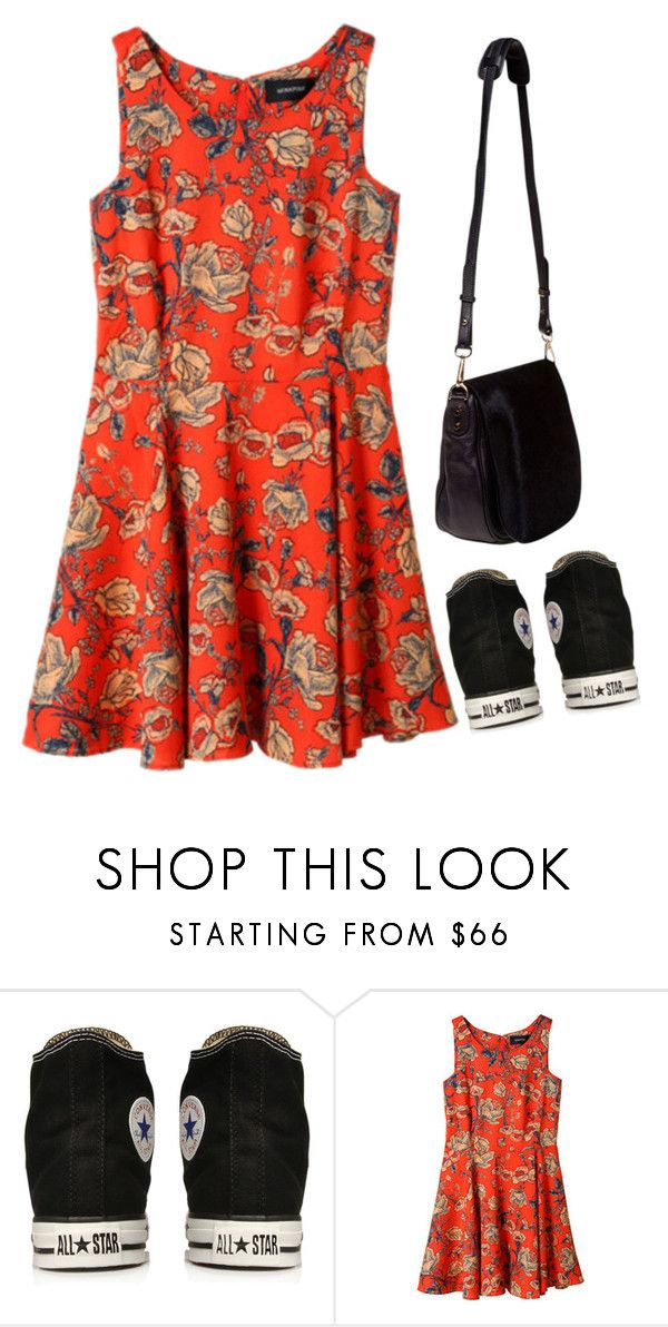 """""""Untitled #117"""" by beccayasha on Polyvore featuring Converse, MINKPINK and Nomadic"""