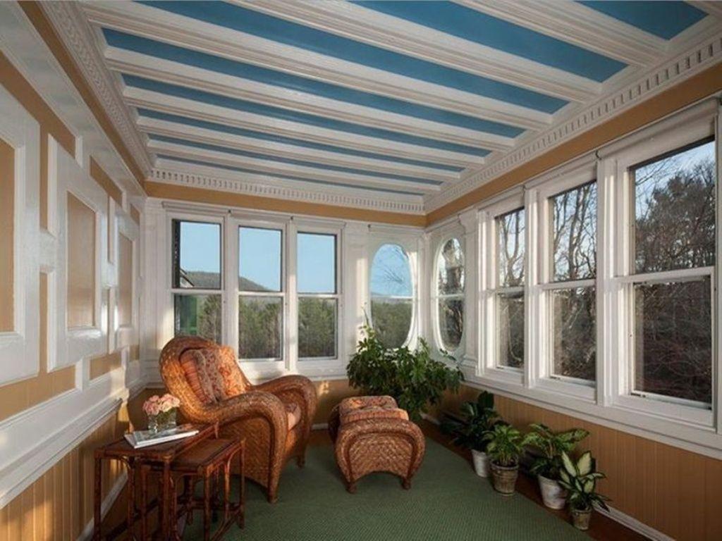 Enclosing A Porch With Storm Windows Extravagant Porch And Landscape Ideas House With Porch Enclosed Porch Decorating Porch Windows
