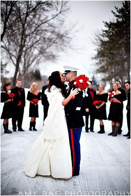 Search For Christmas Every Last Detail Marine Wedding Usmc Wedding Winter Wedding Planning