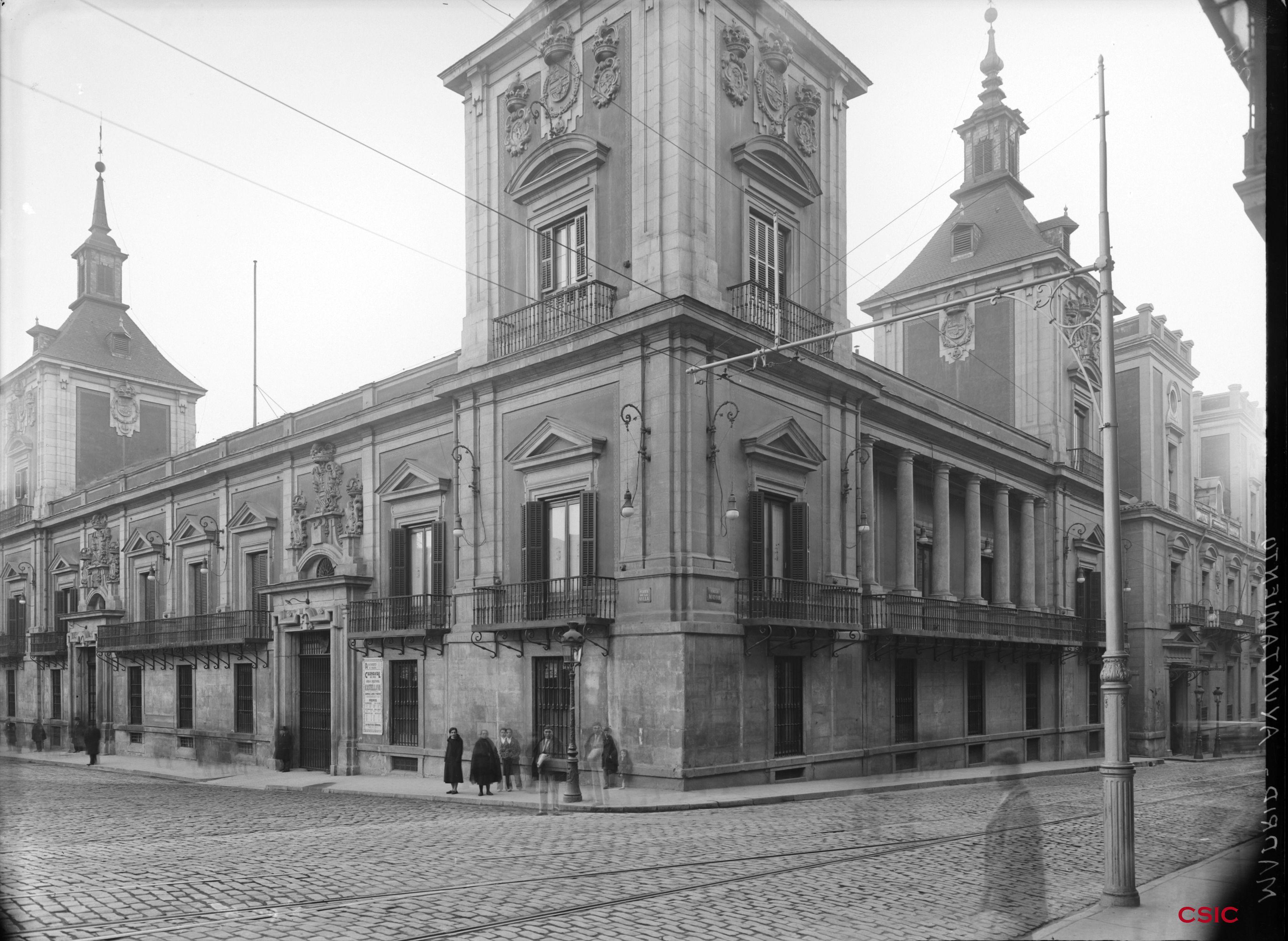 Palacio de santa cruz sede del ministerio de asuntos for Oposiciones ministerio de exteriores