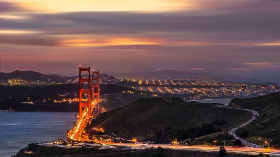 Golden Gate Bridge San Francisco Wallpaper Hd Size Free San Francisco Wallpaper San Francisco Golden Gate San Francisco Golden Gate Bridge