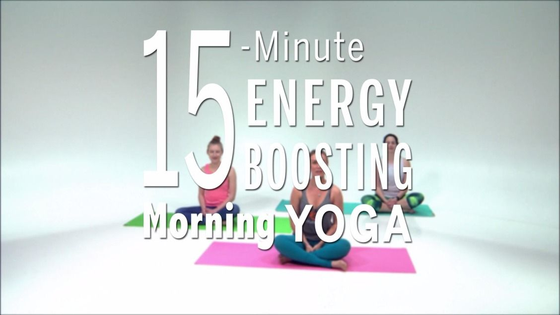 This awesome 15-minute yoga routine is designed to help you start off the day feeling energized and ready to take on the world. | Health.com