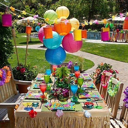 Fun Hawaiian Luau Party Ideas For kidsFun Hawaiian Luau Party Ideas For kids by brtty.king