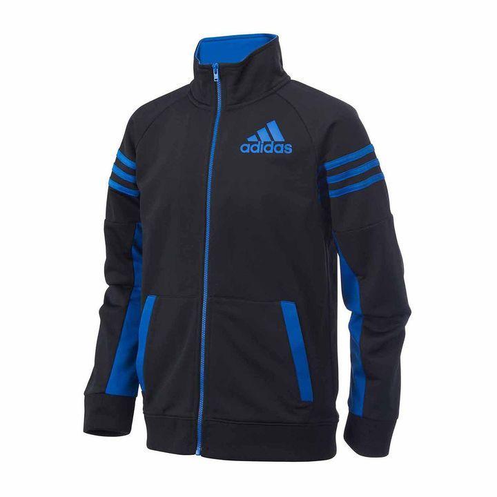 adidas Boys Lightweight Track Jacket Big Kid | Track suit