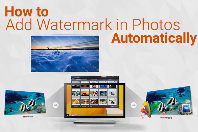 How to Add Watermark in Photos Automatically | Technology