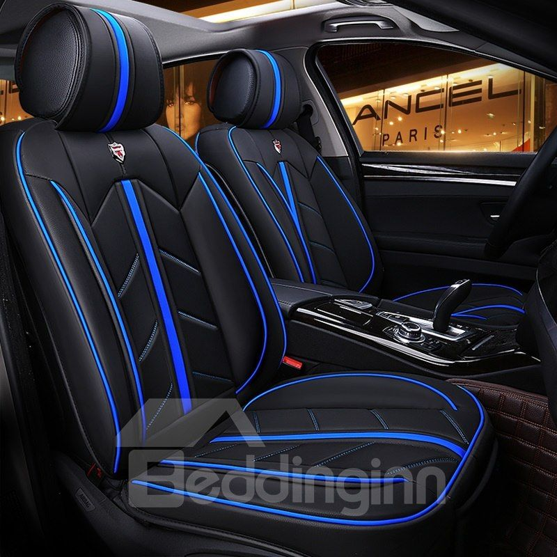 BLACK FAUX LEATHER FRONT SEAT COVERS 1+1 for TOYOTA MR2 ALL MODELS