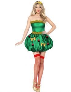 9fc3254ad26 Christmas  Festive Christmas Tree Costume (Upto Plus size) sizes 8 ...