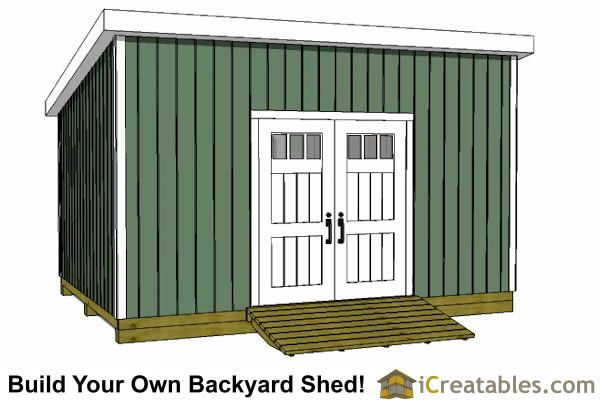 12x18 Lean To Shed Plans Door On High Side Shed Plans Shed Plans 12x16 Shed House Plans