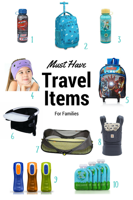 Must Have Travel Items For Families!
