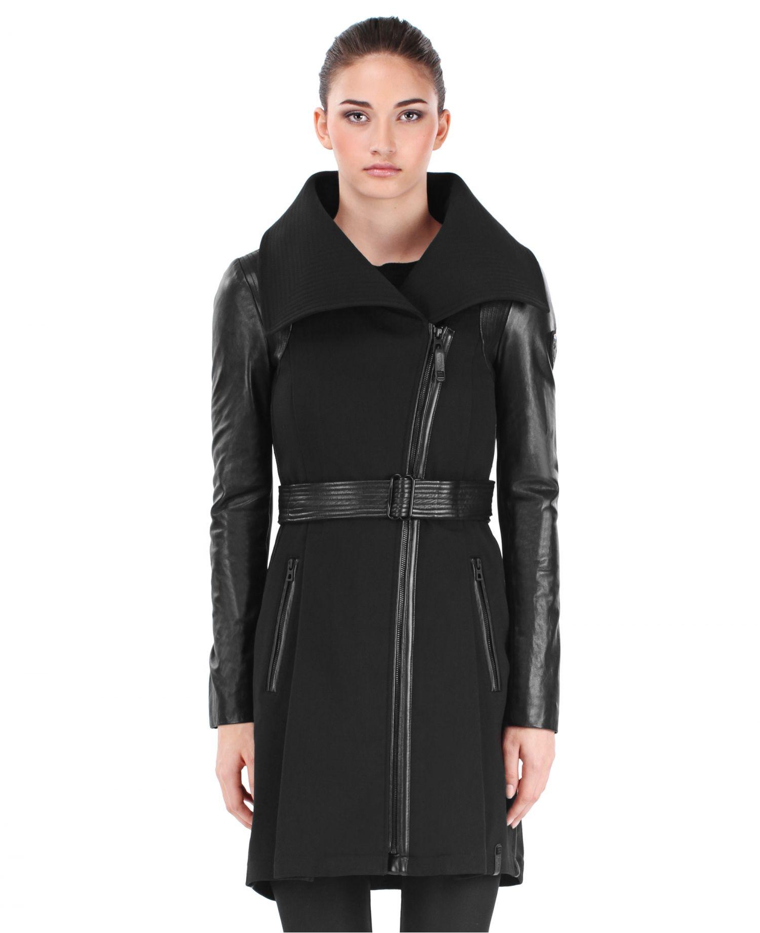 RUDSAK Outerwear (BLACK, TRANSITIONAL WEAVE GENUINE LAMB