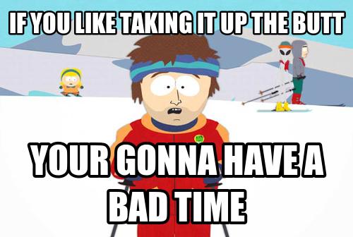 Time meme park bad South