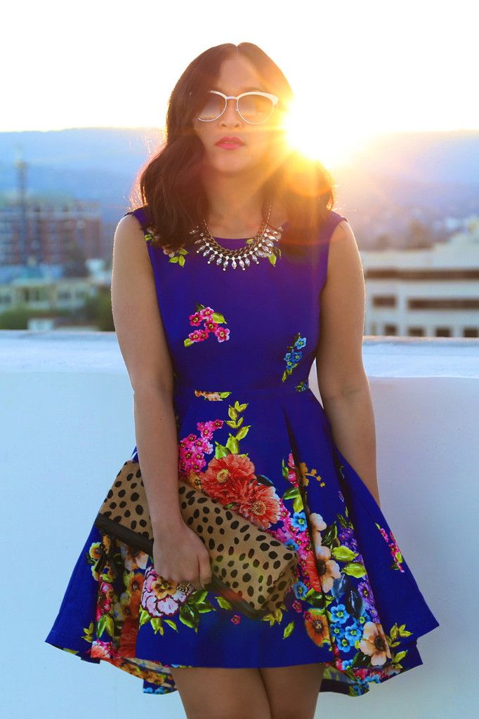 Forget-Me-Not Dress in Blue - would love to remake this style!