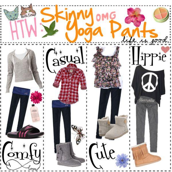 How To Wear Skinny Yoga Pants