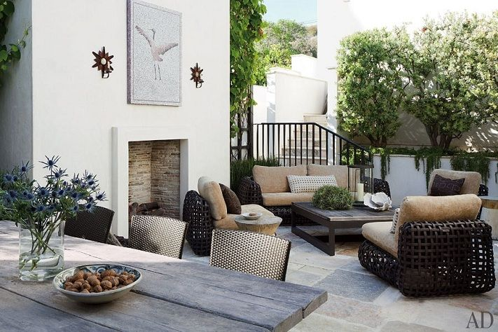 Mix and Chic: Home tour- A film producer's oceanfront Malibu's ...