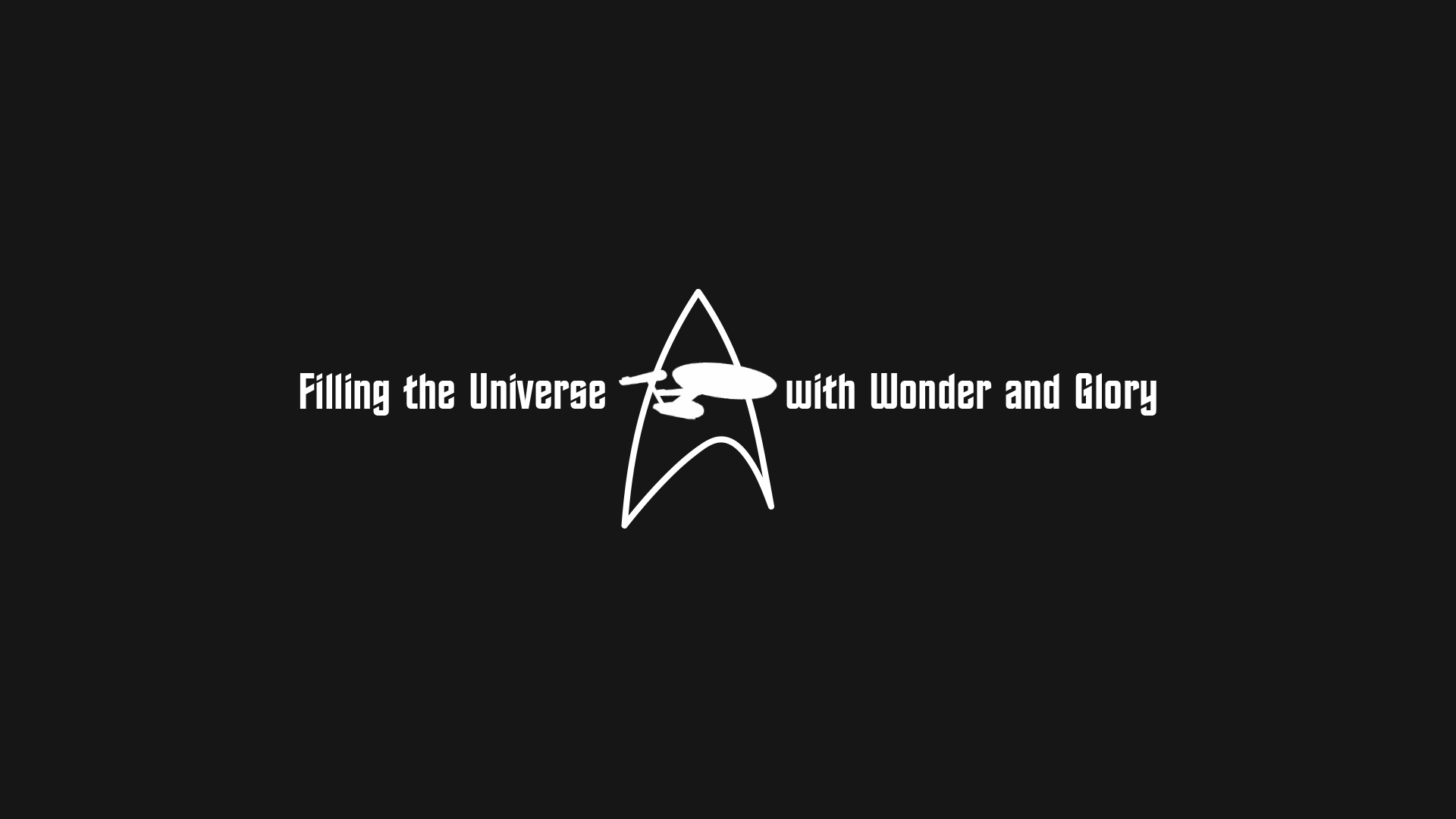 [1920x1080] Star Trek Minimalist Wallpaper | Reddit HD Wallpapers | Minimalist wallpaper, Star ...